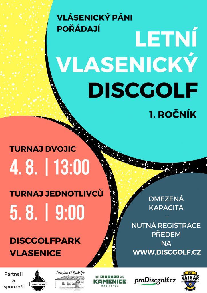 Letní Vlasenický Discgolf2018 final